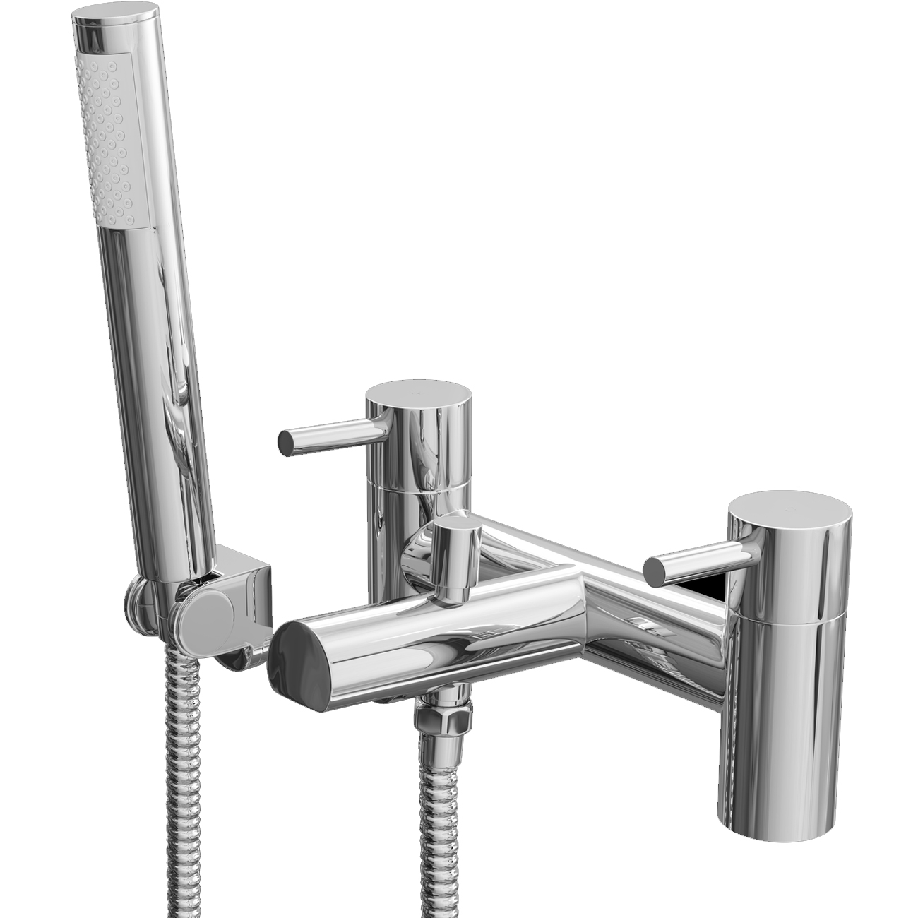 Cali Dalton Bath Shower Mixer Tap - Deck Mounted - Chrome