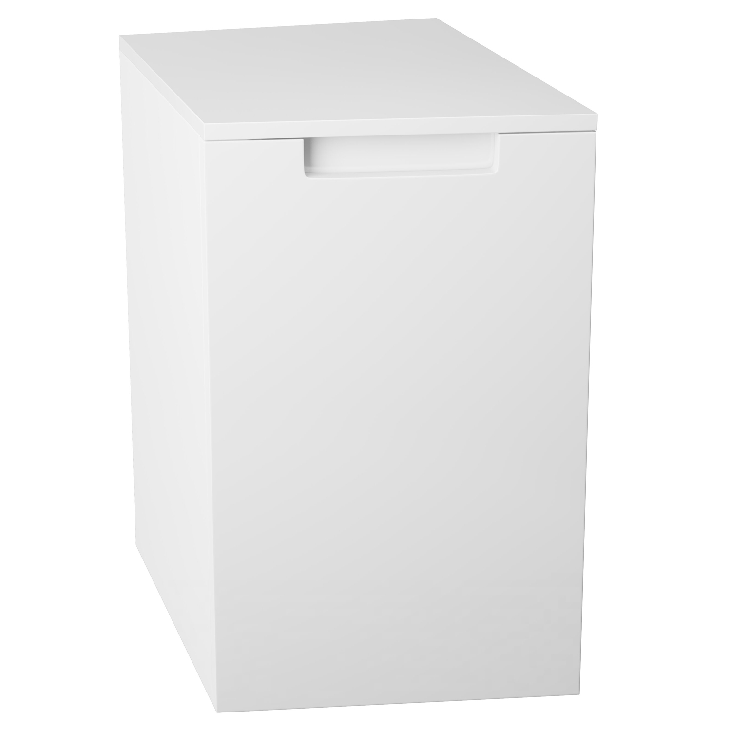 Cali Henley Left Handed Side Cabinet 300mm Wide - Gloss White