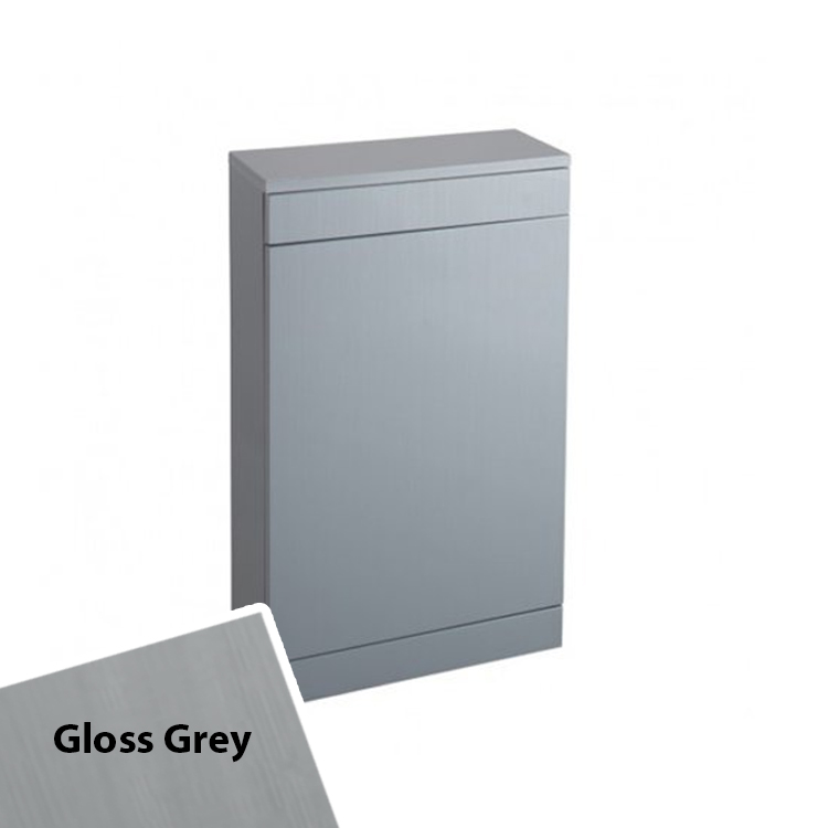 Cali Idon Back to Wall WC Unit - 500mm Wide - Grey