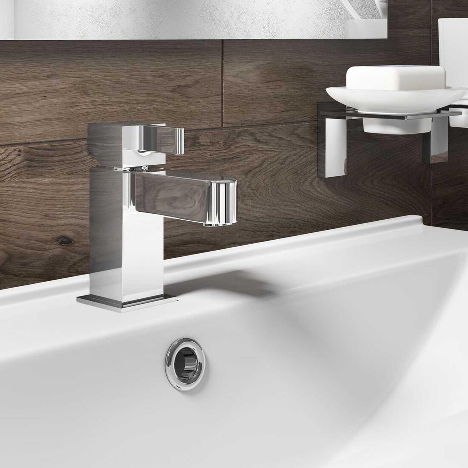 Cali Mode Mono Basin Mixer Tap - Deck Mounted - Chrome