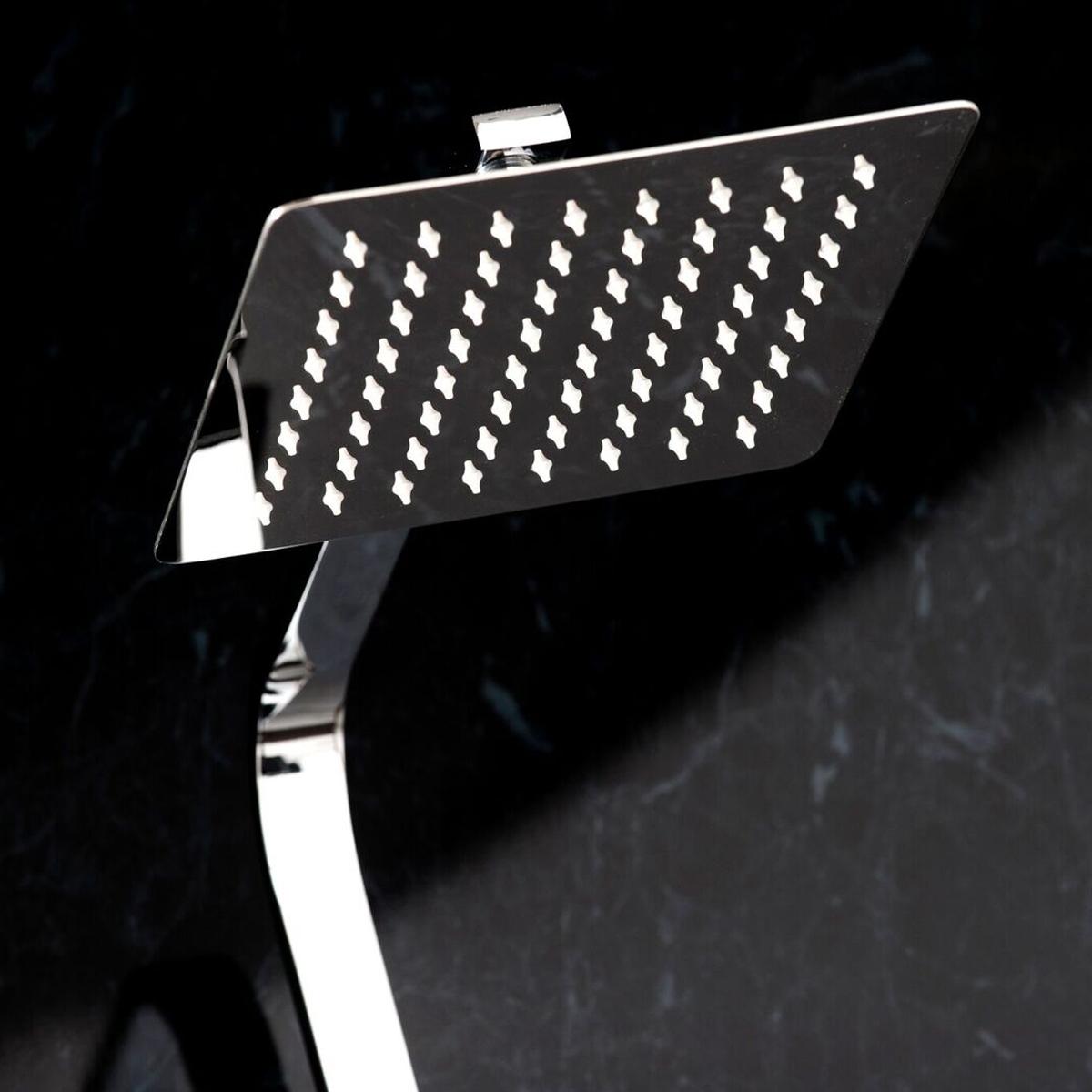Cali Quadrato Bar Mixer Shower with Shower Kit + Fixed Head-1