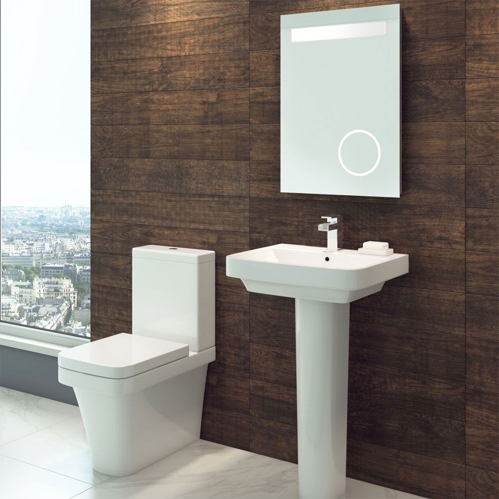 Cali Rivelin Close Coupled Toilet - Quick Release Seat