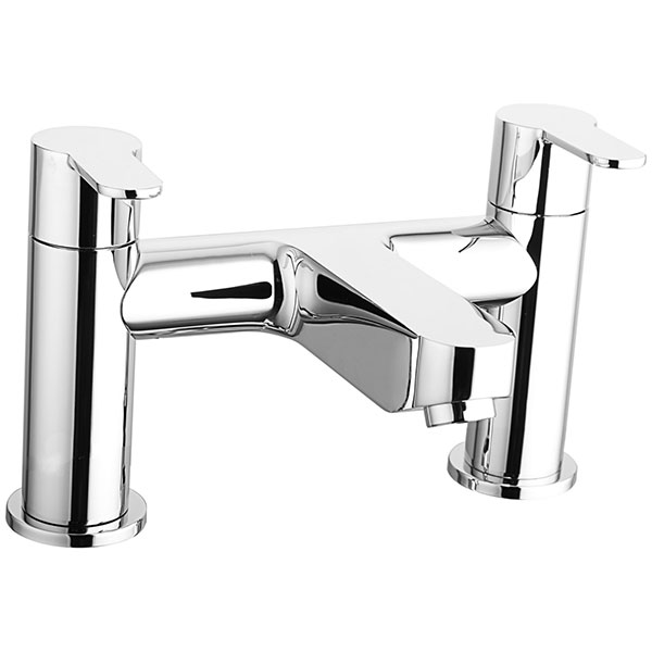 Cali Roma Bath Filler Tap - Deck Mounted - Chrome