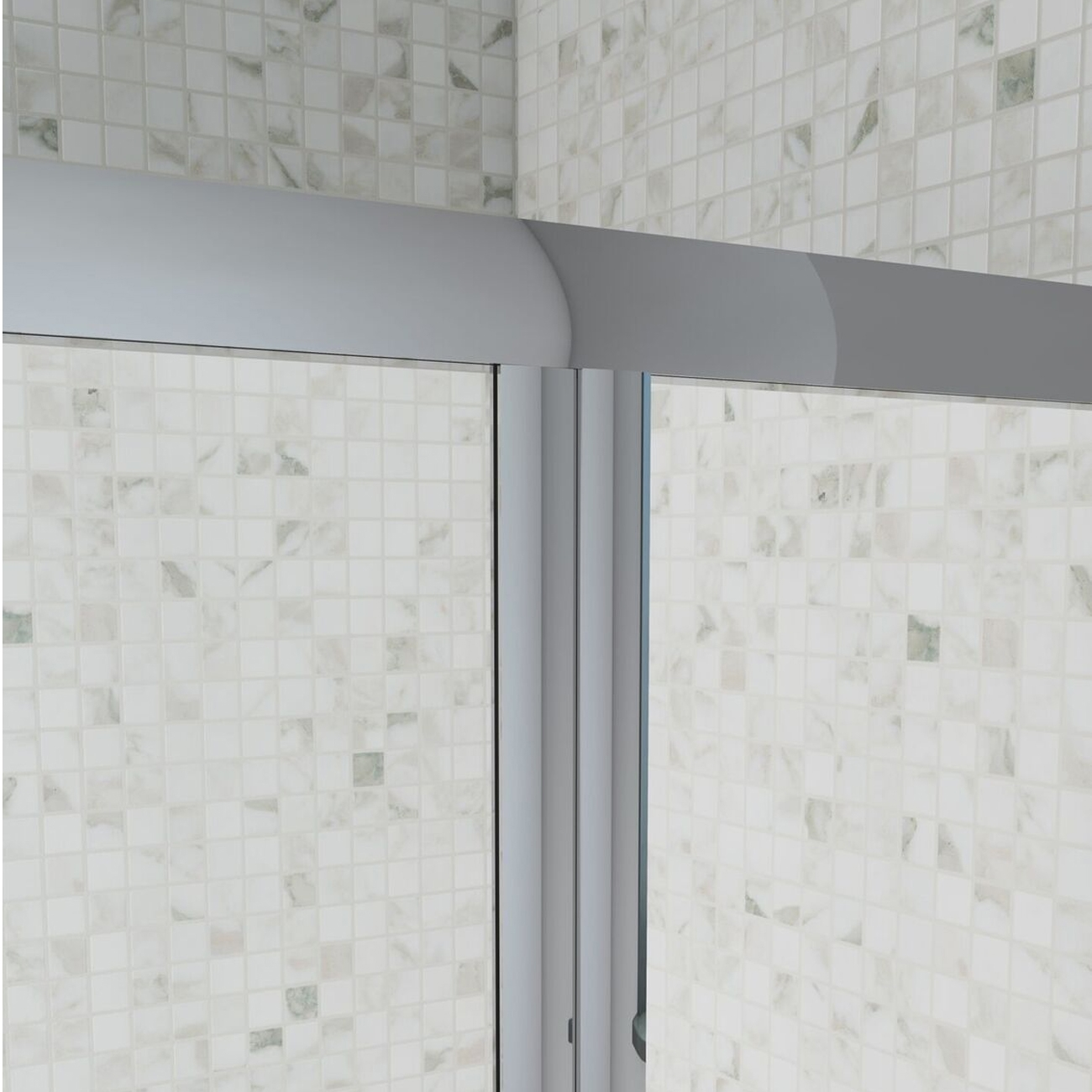 Cali Seis Bi-Fold Door Shower Enclosure 900mm x 760mm - 4mm Glass-1