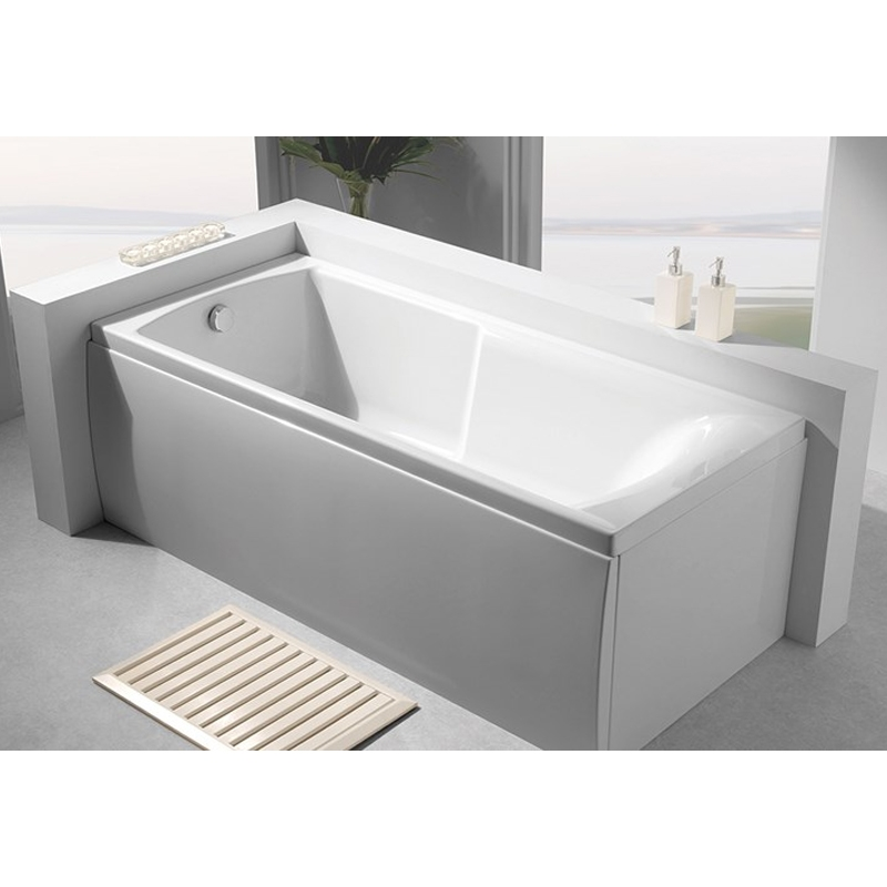 Carron Apex Rectangular Shower Bath 1700mm x 800mm 5mm - Acrylic