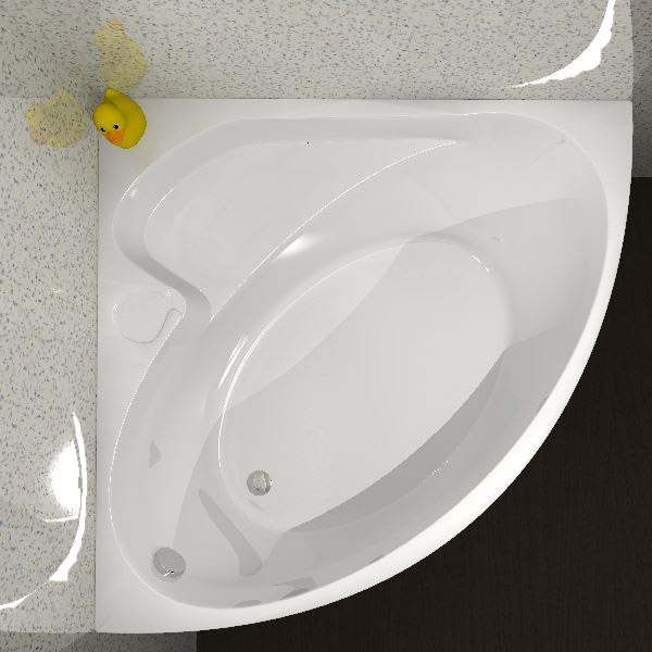 Carron Oriole Corner Bath 1200mm x 1200mm - Carronite-0
