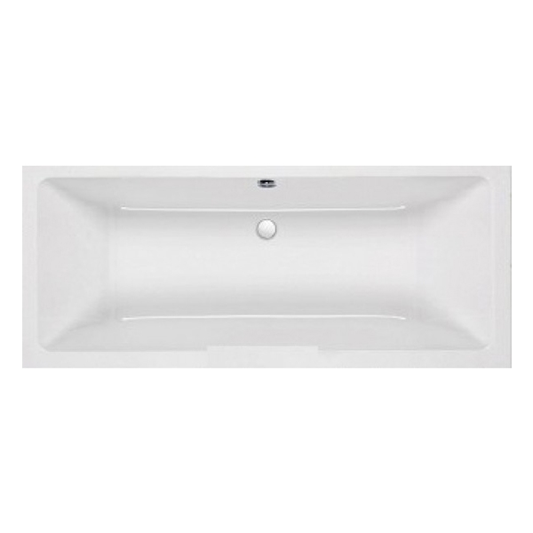 Carron Quantum Double Ended Rectangular Bath 1700mm x 750mm 5mm - Acrylic