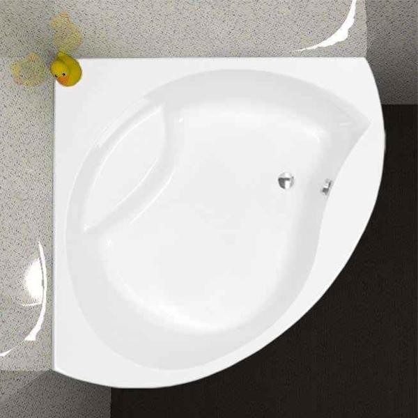 Carron Tranquility Corner Bath 1300mm x 1300mm - Carronite