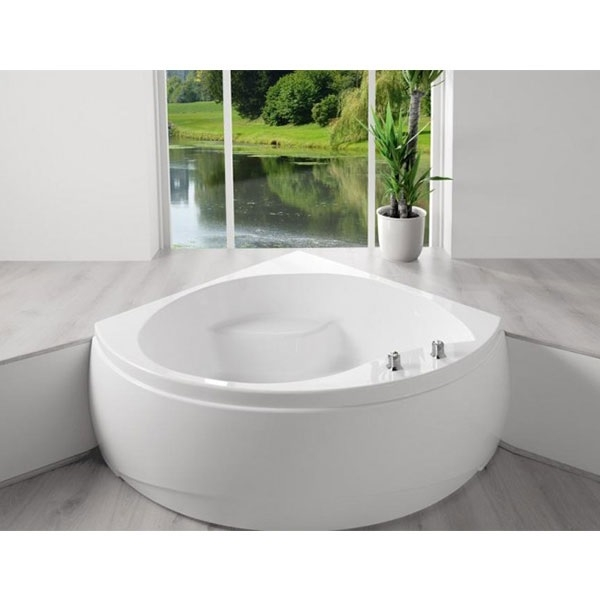Carron Tranquility Corner Bath 1300mm x 1300mm - Carronite