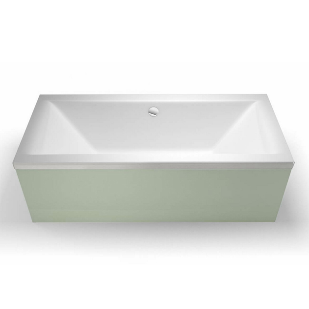 Cleargreen Enviro Rectangular Double Ended Bath 1700mm x 700mm - White