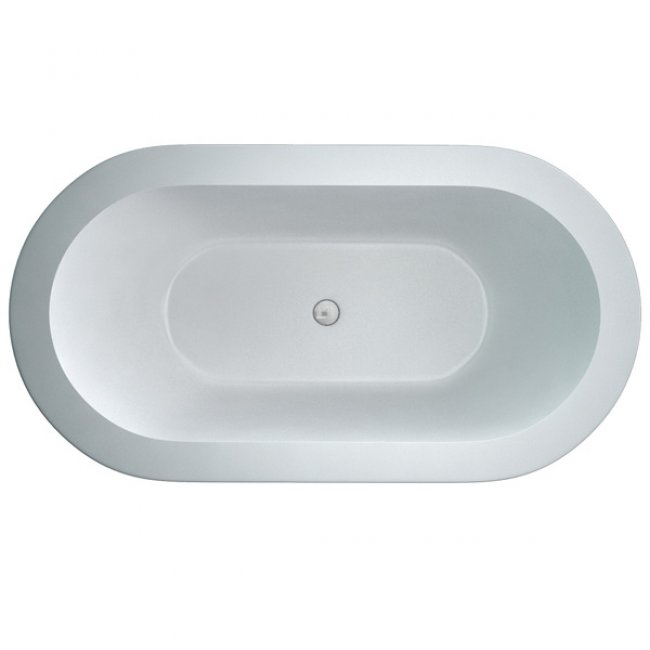 Cleargreen Nouveau Petite Freestanding Bath 1500mm x 800mm - White-1