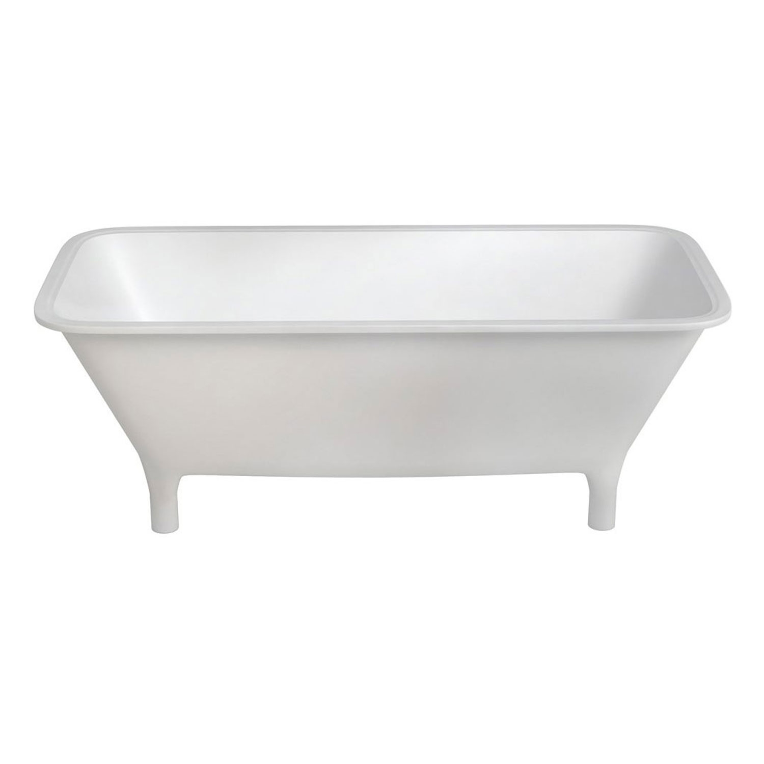 Clearwater Lonio Classical Freestanding Bath 1700mm x 750mm - Natural Stone