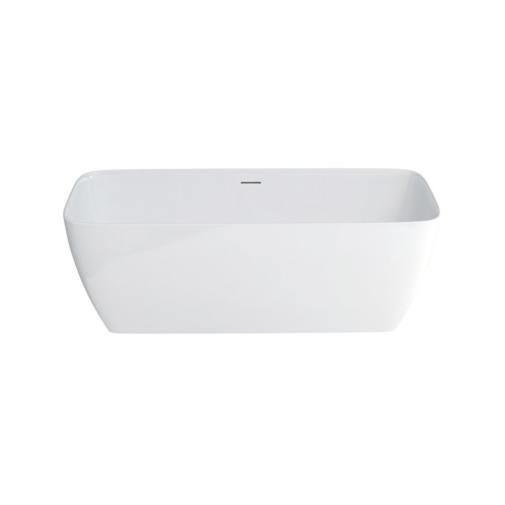 Clearwater Vicenza Freestanding Bath 1790mm x 750mm - Natural Stone