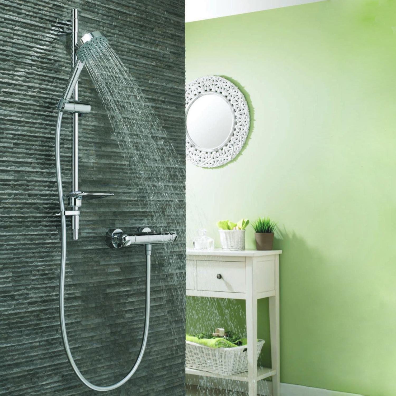 Deva Response Bar Mixer Shower with Shower Kit