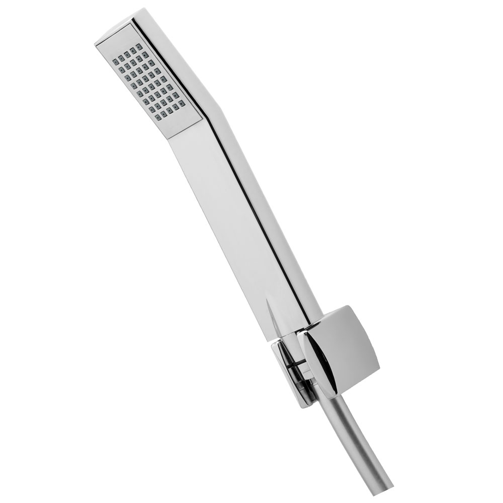 Deva Swoop Pillar Mounted Bath Shower Mixer Tap - Chrome-0