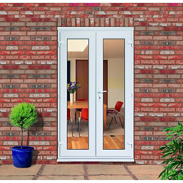Victoria White uPVC French Doors (5ft) 2090mm High x 1490mm Wide-0 : victoria doors - pezcame.com