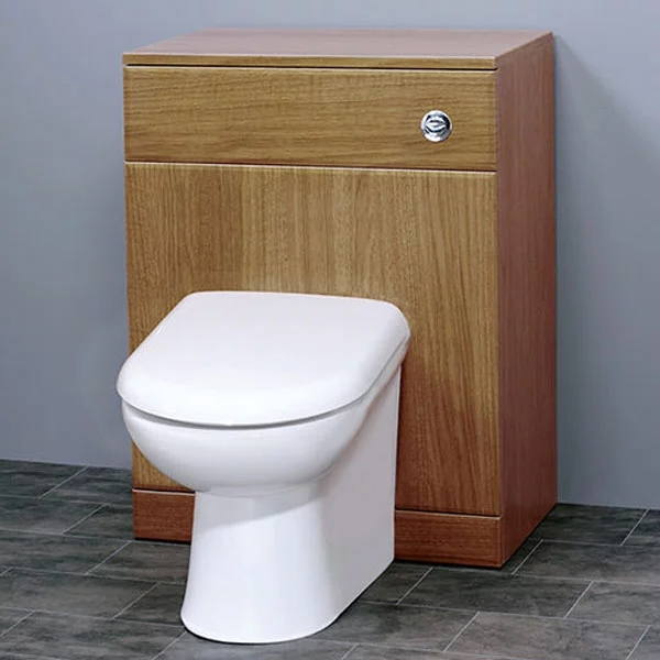 Duchy Gem Back to Wall WC Unit, 500mm Wide, Calvados