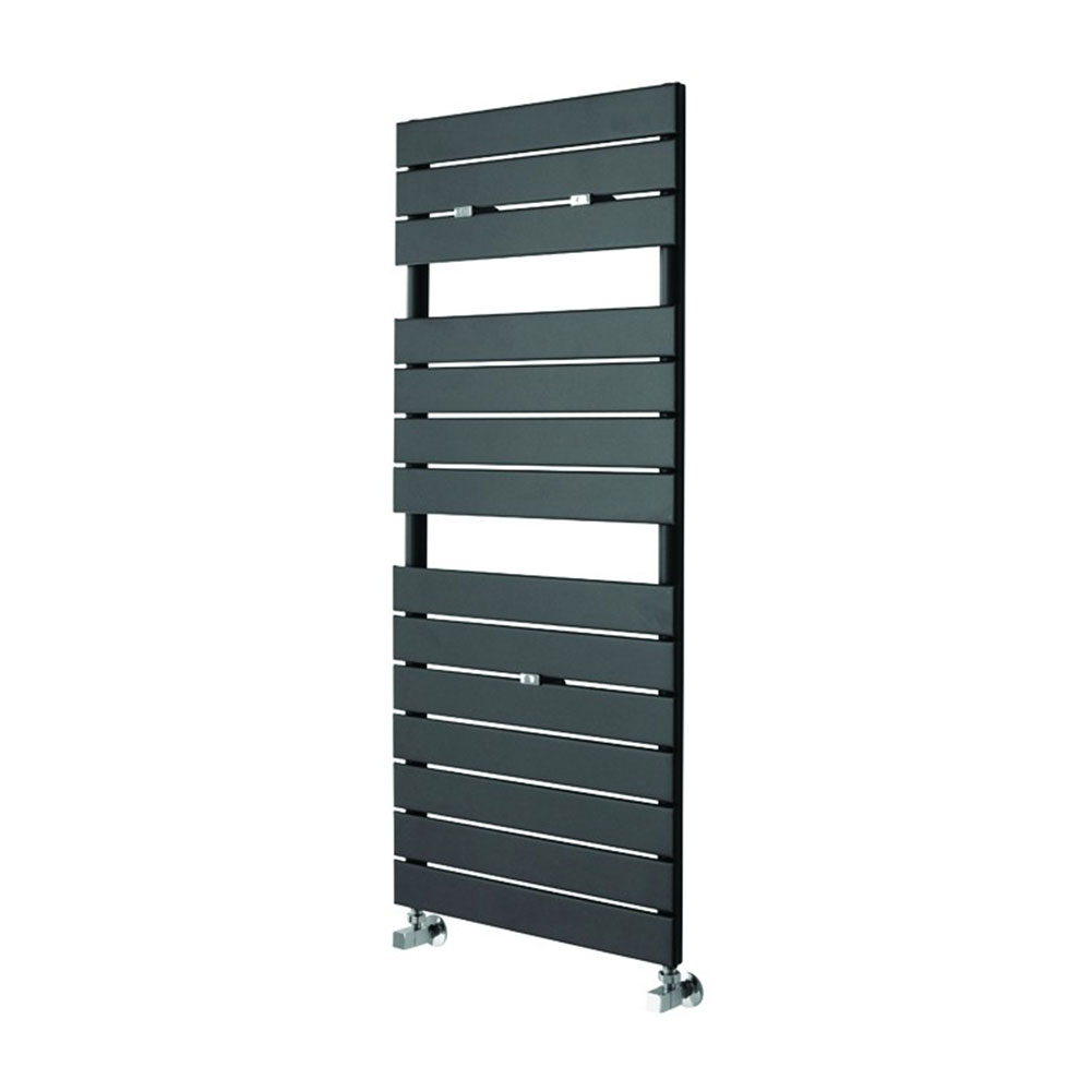 Duchy Libra Designer Heated Towel Rail 1210mm H x 500mm W Anthracite