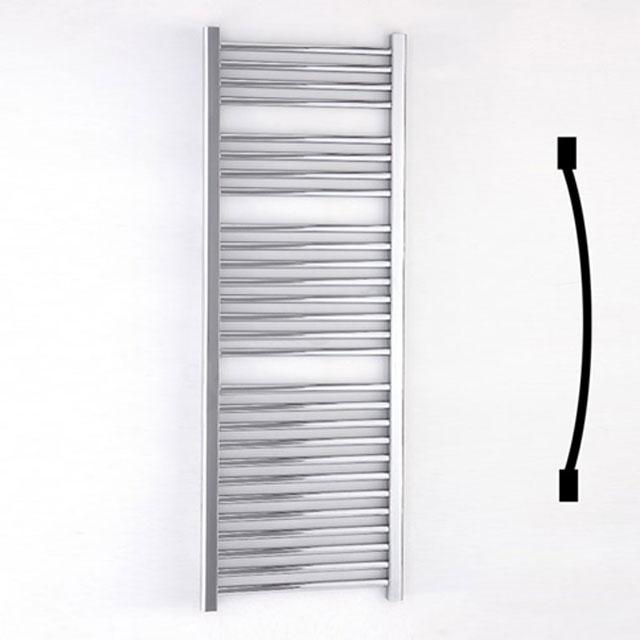 Duchy Standard Curved Towel Rail 1430mm H X 500mm W - Chrome