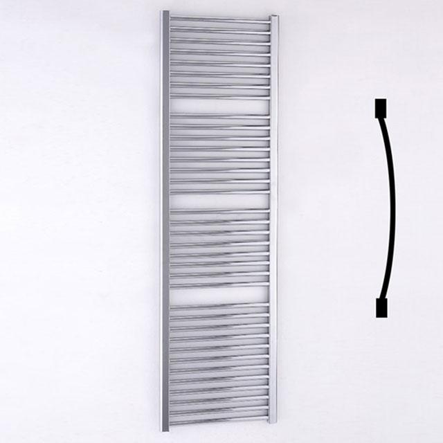 Duchy Standard Curved Towel Rail 1700mm H X 500mm W - Chrome-0