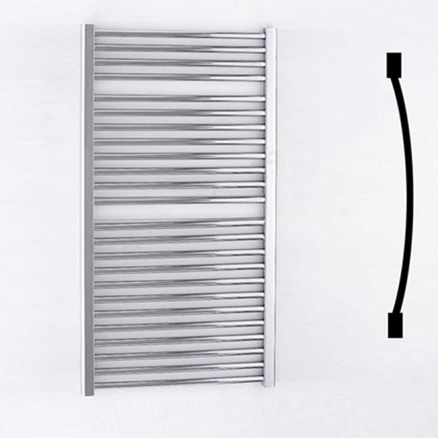 Duchy Standard Curved Towel Rail 1110mm H X 600mm W - Chrome-0