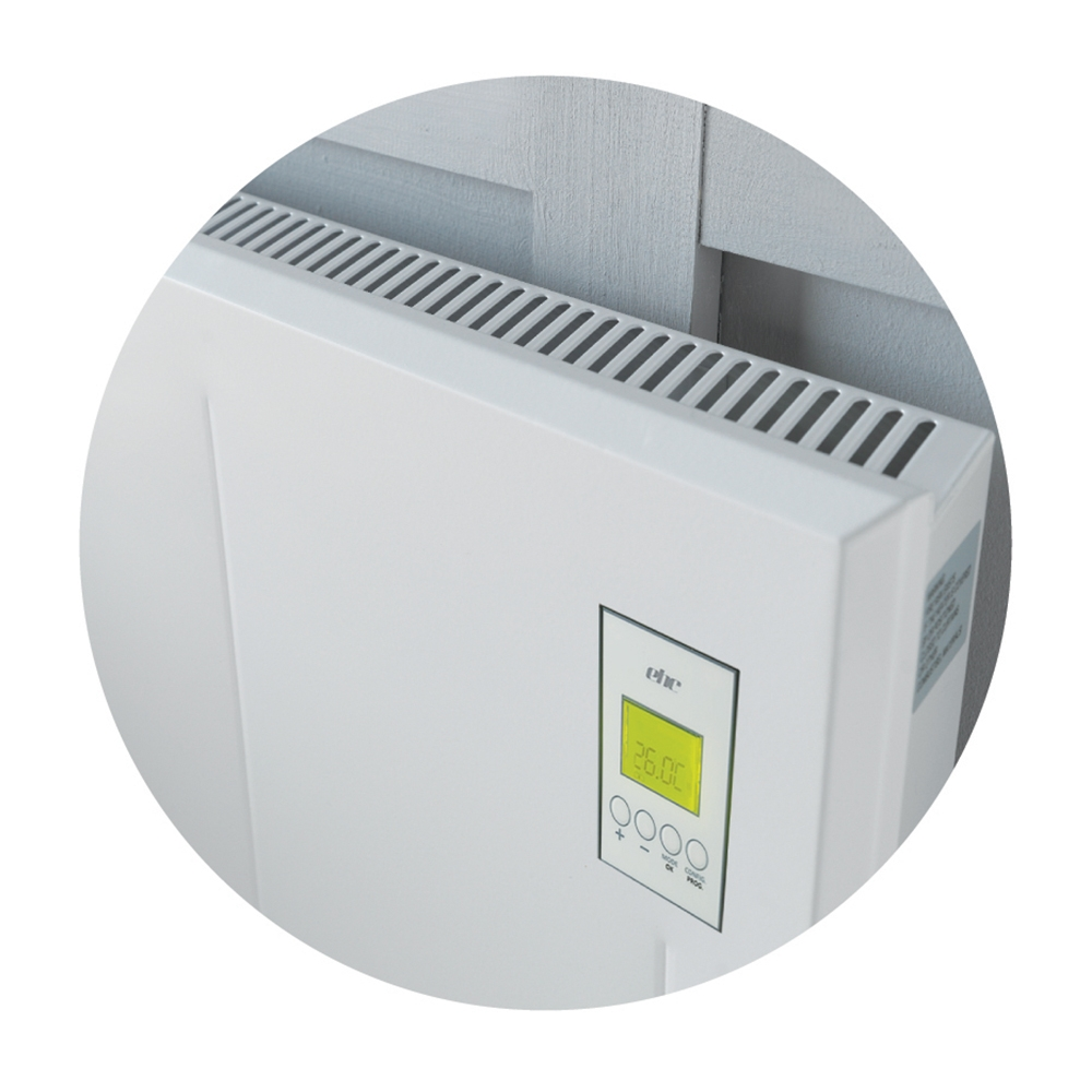 DSR Visage Digital Electric Panel Heater, 450mm High x 750mm Wide, 1.2kW-0