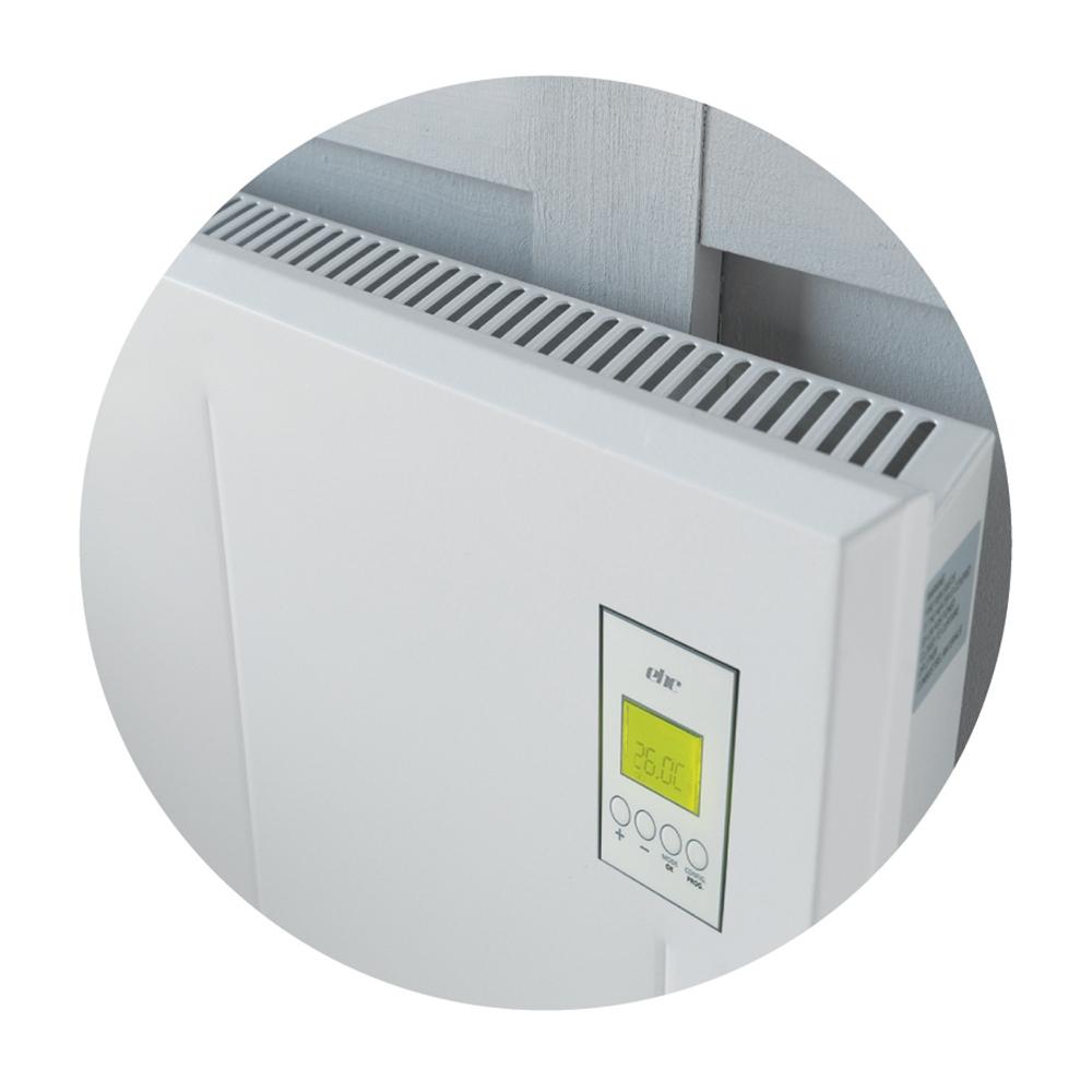 DSR Visage Digital Electric Panel Heater, 450mm High x 1050mm Wide, 2.0kW-0