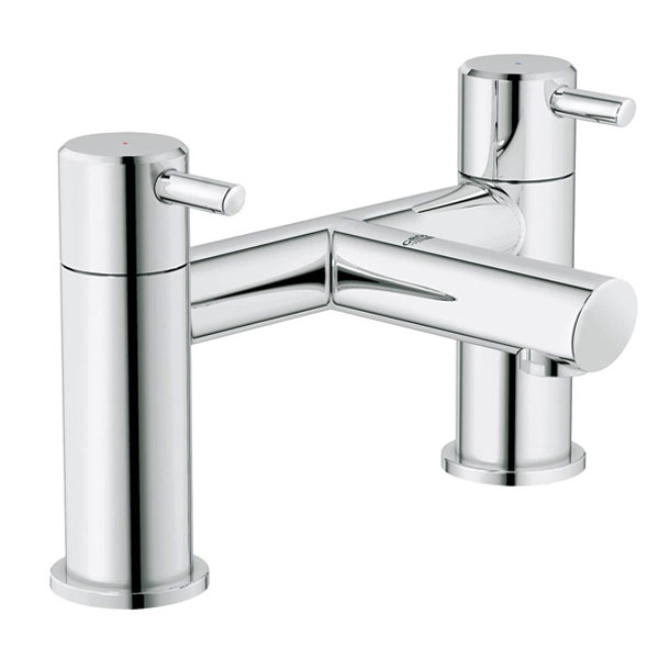 Grohe Concetto Bath Filler Tap Pillar Mounted - Chrome