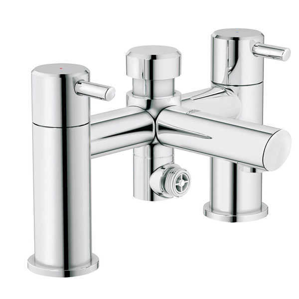 Grohe Concetto Bath Shower Mixer Tap Pillar Mounted - Chrome