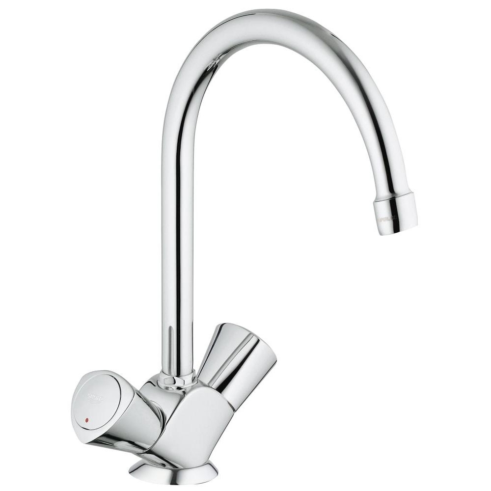 Grohe Costa 1/2 Inch S Kitchen Sink Mixer Tap - Chrome