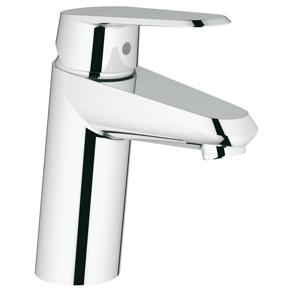 Grohe Eurodisc Cosmopolitan Deck Mounted Mini Basin Mixer Tap - Chrome
