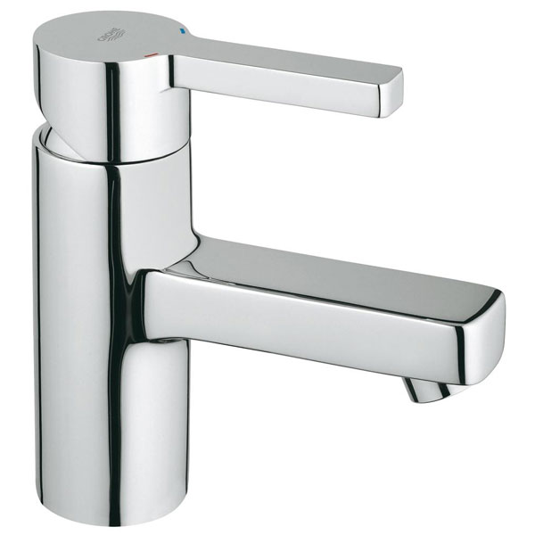 Grohe Lineare Deck Mounted Mini Basin Mixer Tap - Chrome