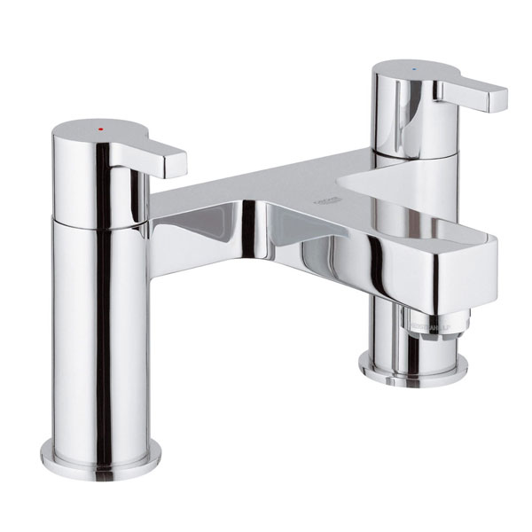 Grohe Lineare Bath Filler Tap Pillar Mounted - Chrome