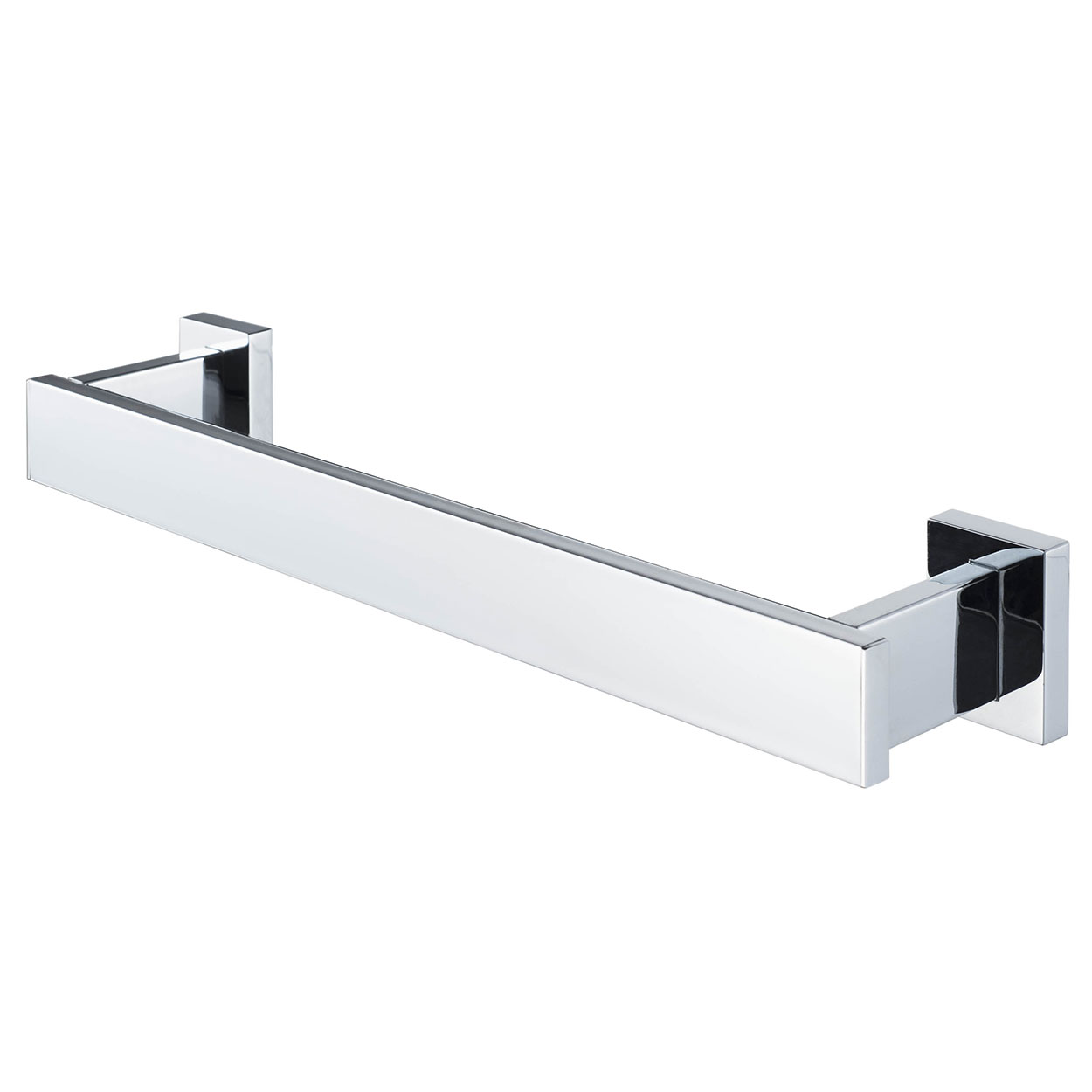 Haceka Edge Towel Rail, 328mm Wide, Chrome