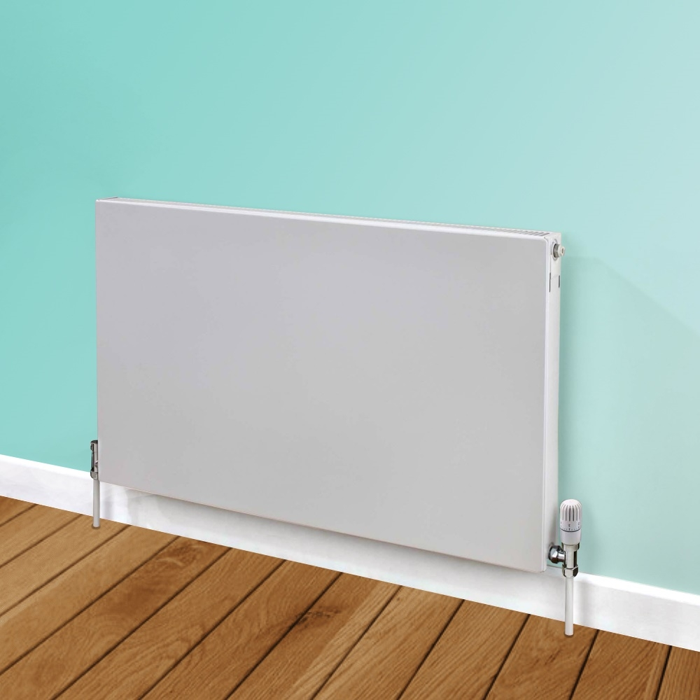Heatwave Flat Panel Horizontal Type 11 Radiator 500mm H x 600mm W - White
