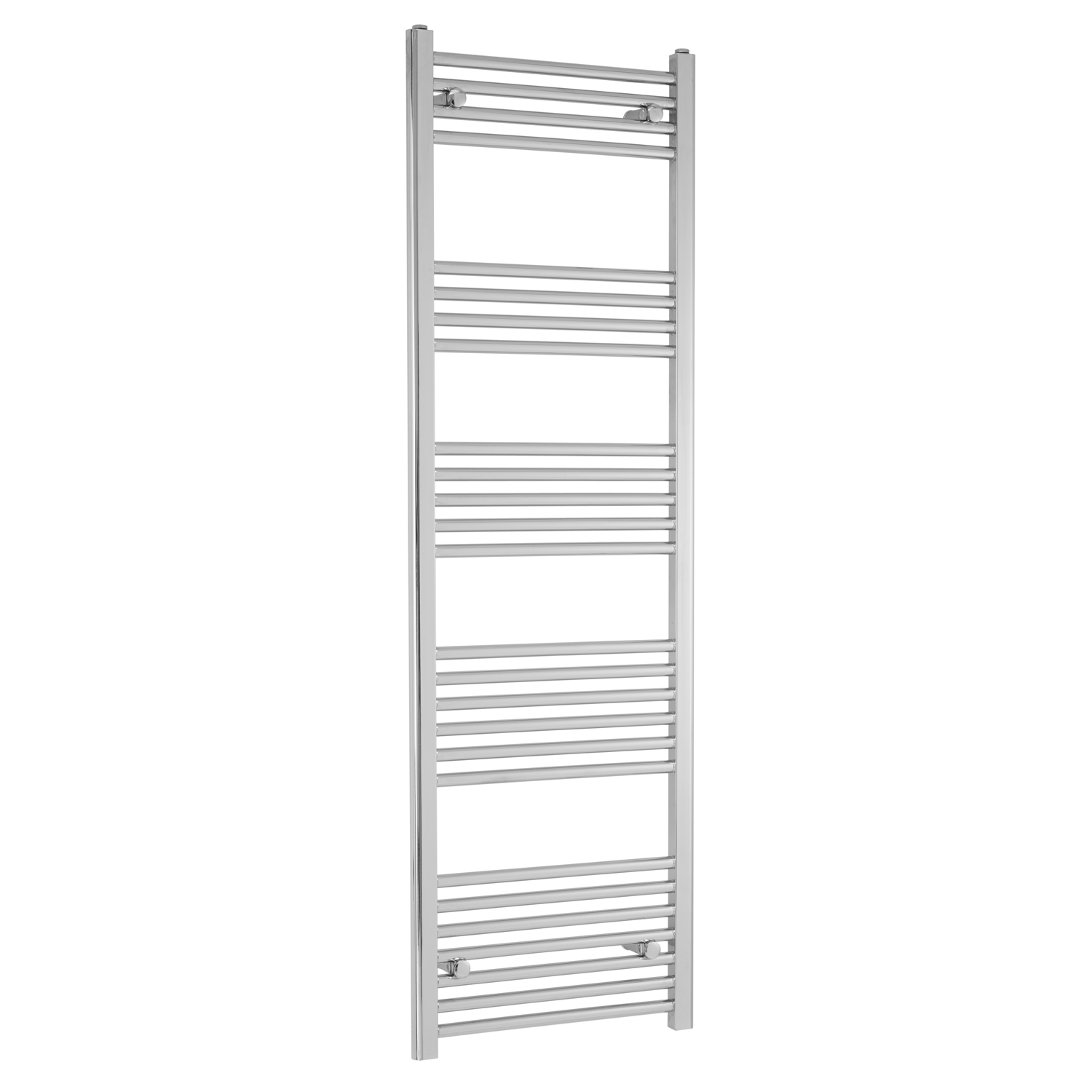 Heatwave Independent Straight Towel Rail 1600mm H X 500mm W - Chrome