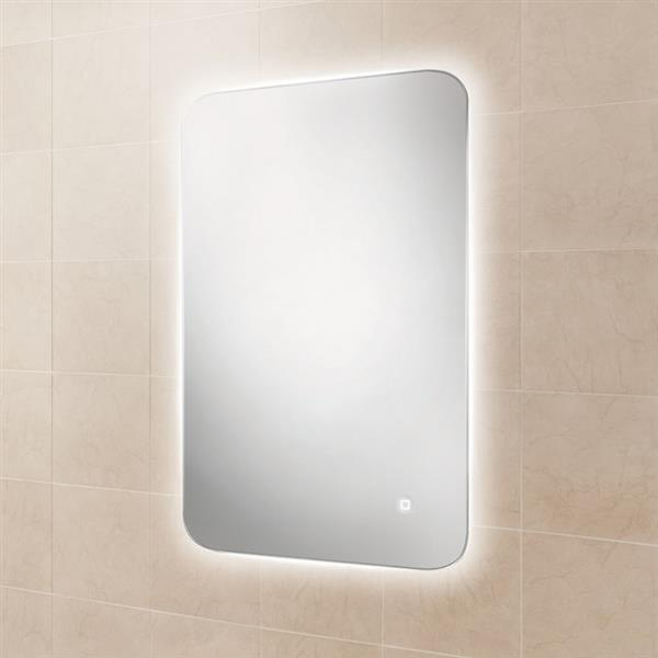 HiB Ambience 50 Steam Free Bathroom Mirror 700mm H x 500mm W-1