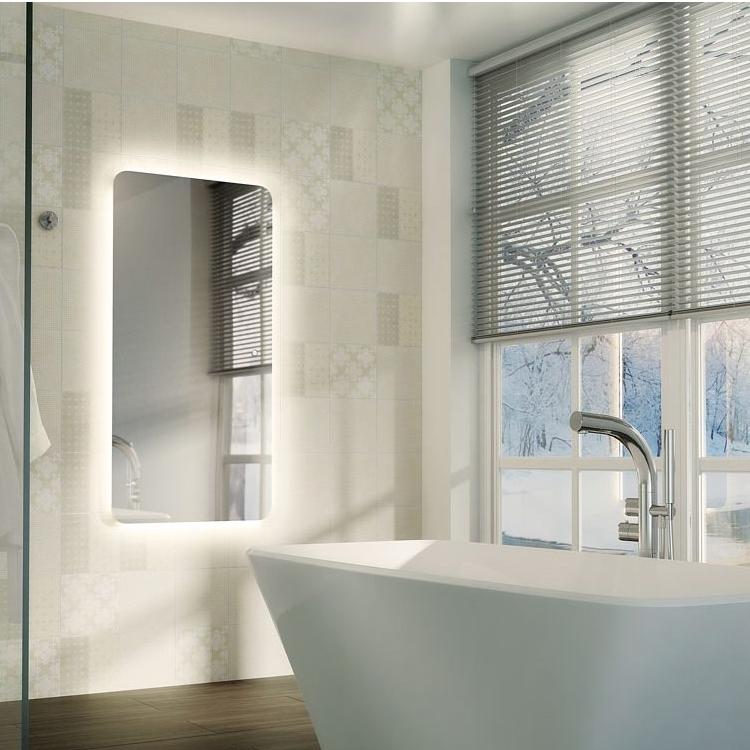 HiB Ambience 120 Steam Free Bathroom Mirror 600mm H x 1200mm W-1