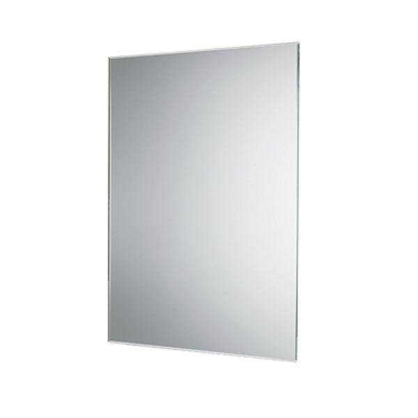 HiB Johnson Designer Bathroom Mirror 600mm H x 400mm W