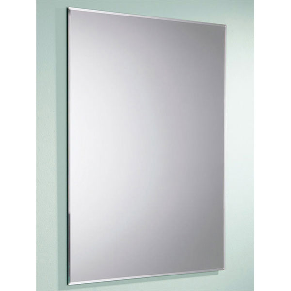 HiB Joshua Designer Bathroom Mirror 700mm H x 500mm W-2