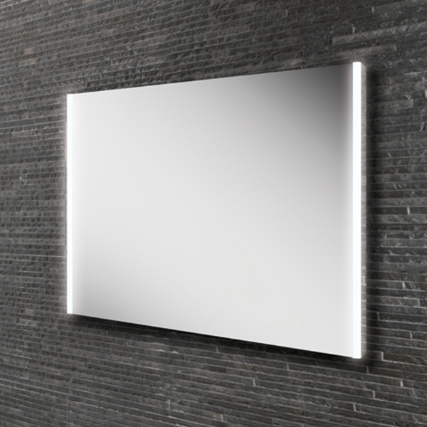 HiB Zircon 80 Demistable LED Bathroom Mirror 600mm H x 800mm W