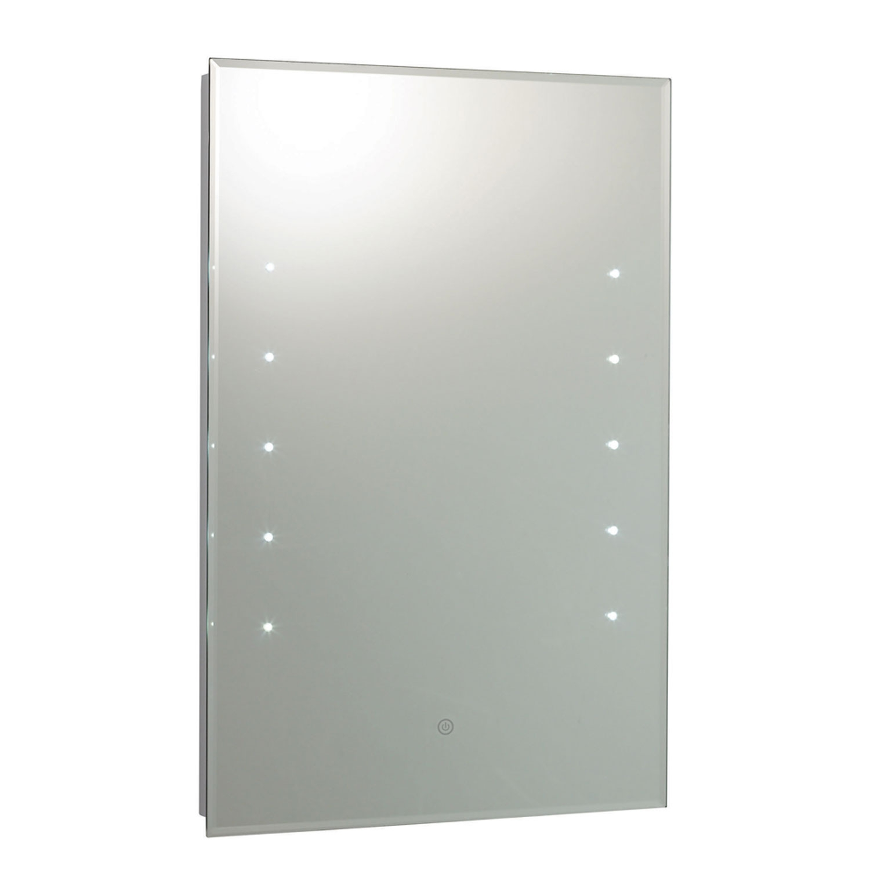 Hudson Reed Alcina Bathroom Mirror 700mm H x 500mm W - Chrome