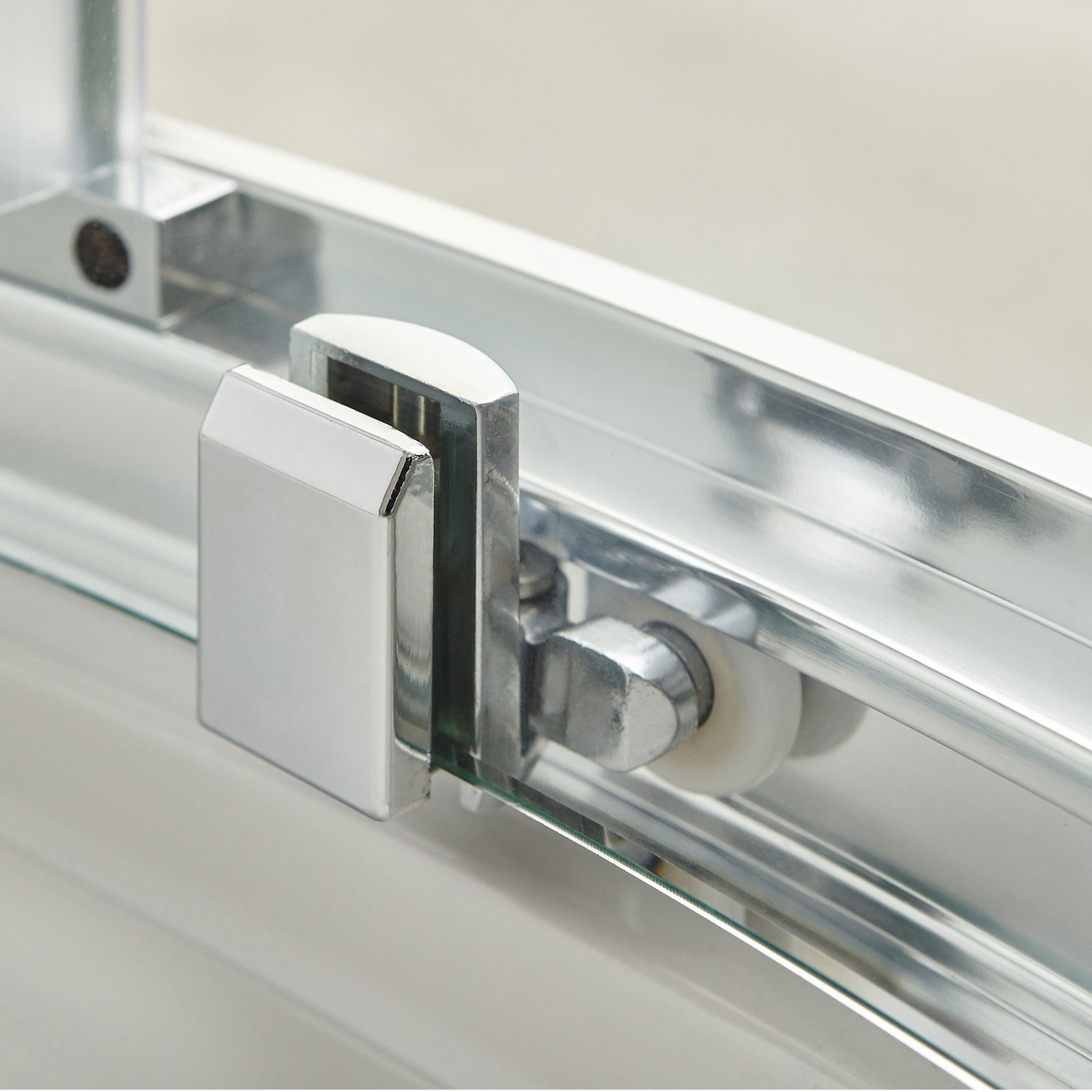 Hudson Reed Apex Sliding Shower Door 1200mm Wide - 8mm Glass