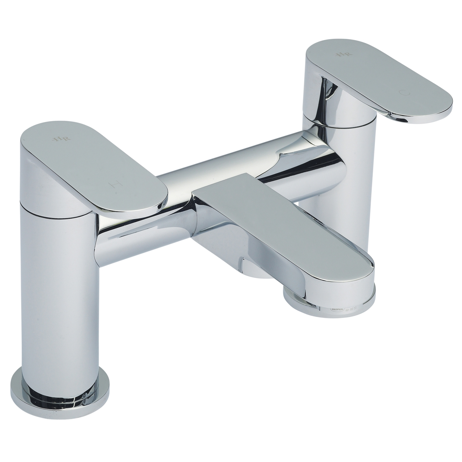 Hudson Reed Cloud 9 Mono Basin Mixer Tap and Bath Filler Tap, Chrome