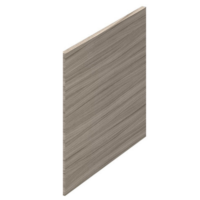 Premier Athena Square Shower Bath End Panel 520mm H X 700mm W - Driftwood