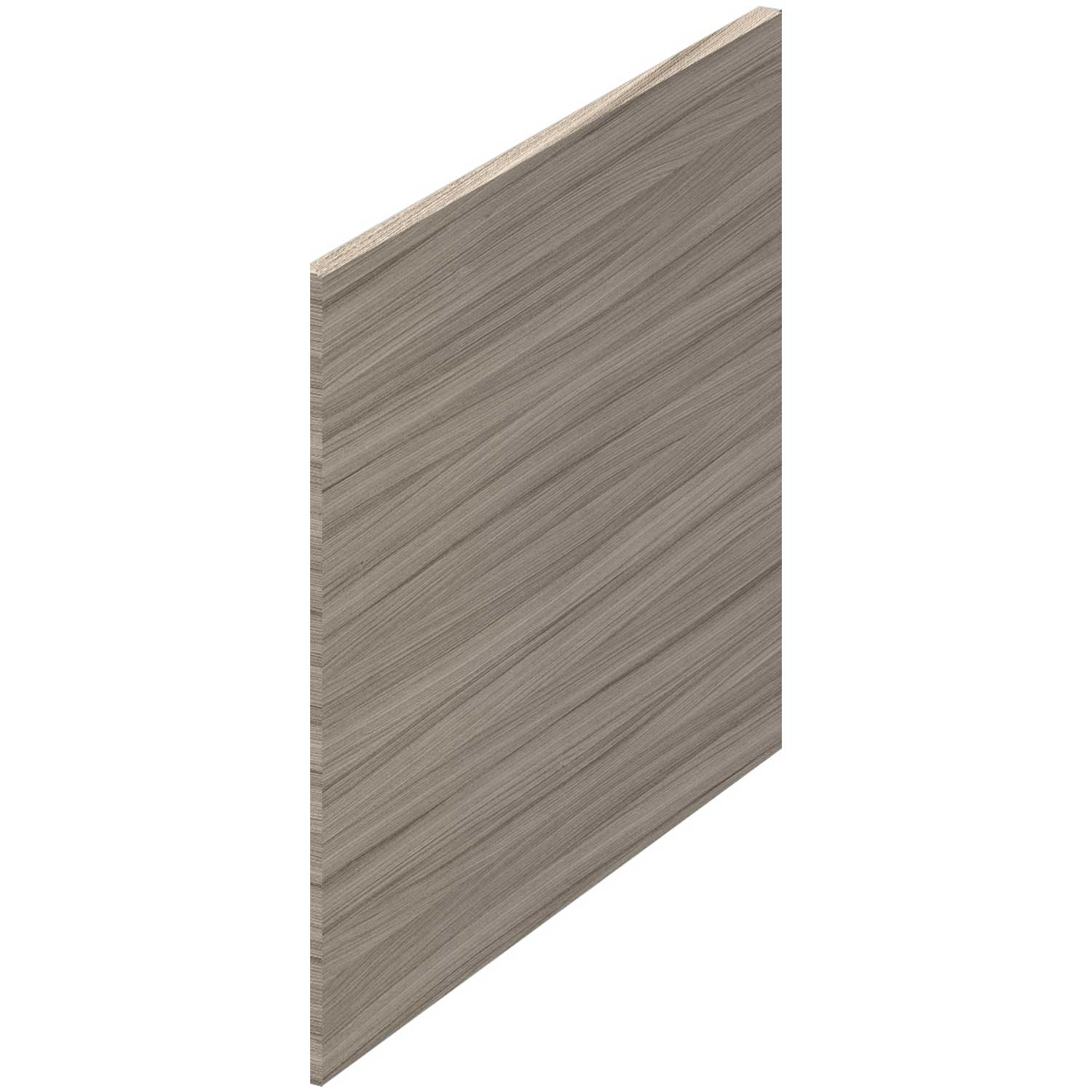 Hudson Reed MFC Shower Bath End Panel 520mm H x 700mm W - Driftwood