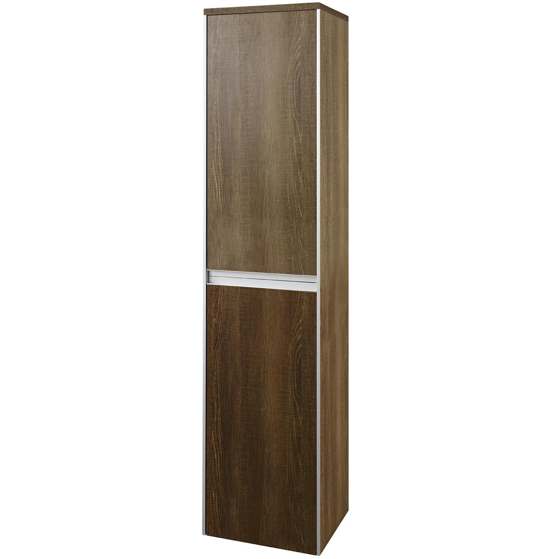Hudson Reed Erin Furniture Pack2, Textured Oak