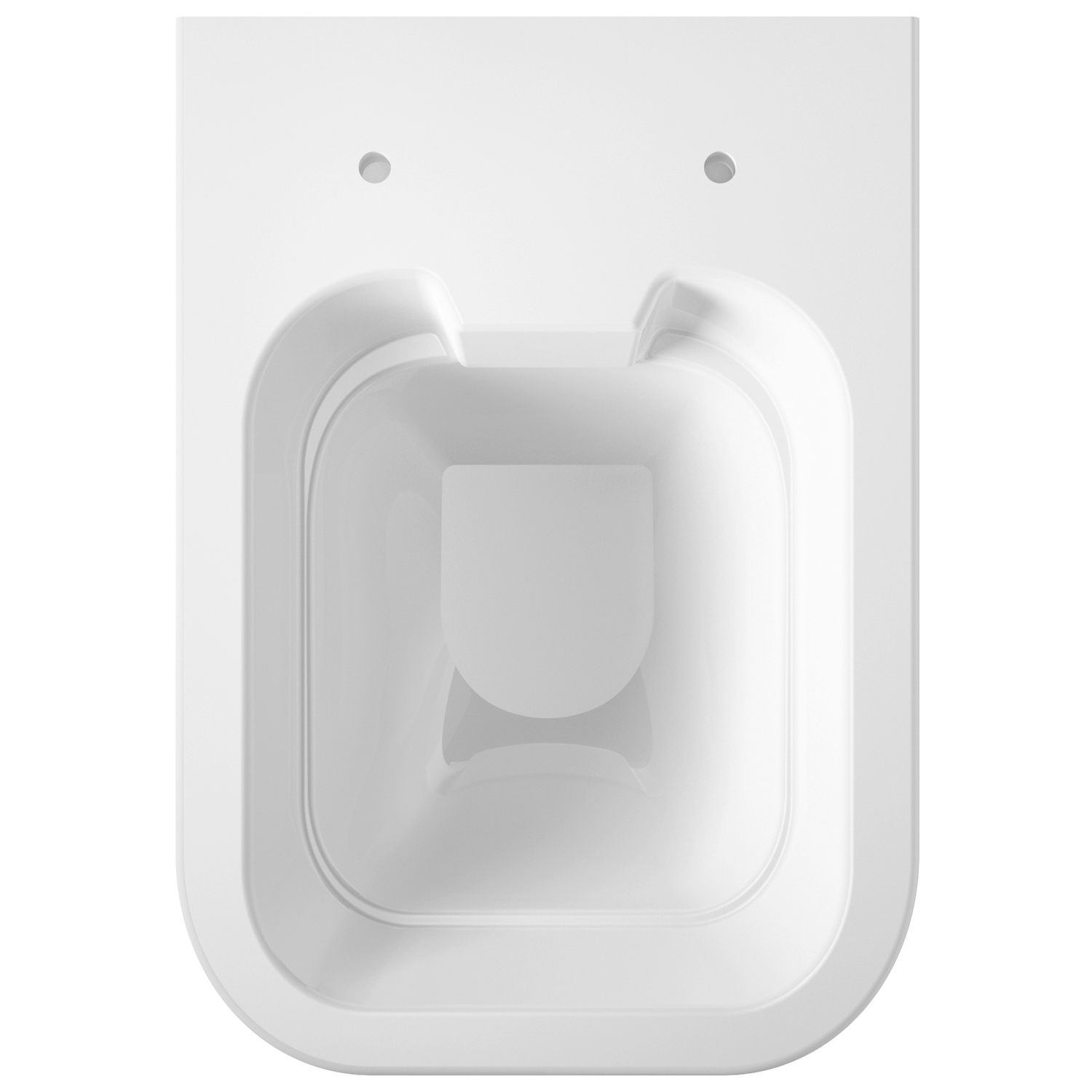 Hudson Reed Grace Wall Hung Rimless Pan - Soft Close Seat