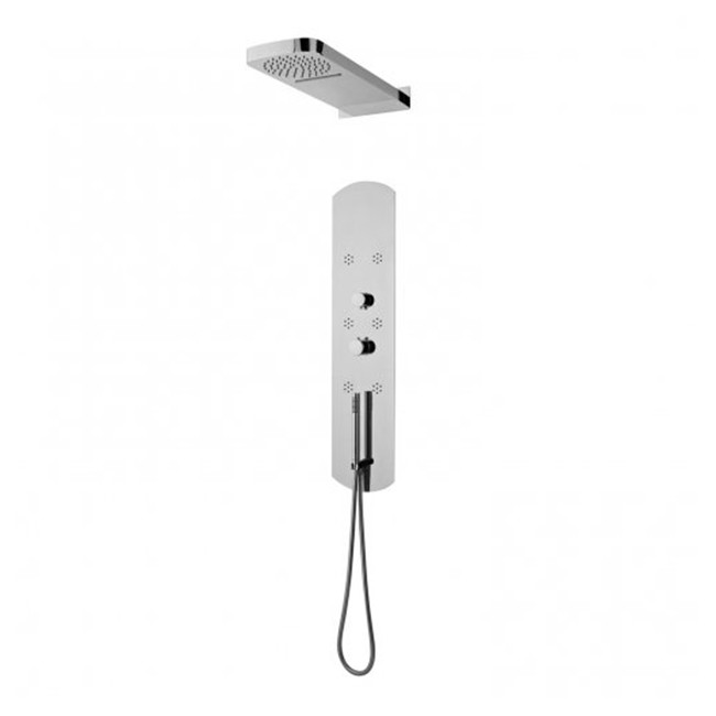 Hudson reed interval shower tower pin003 thermostatic for Shower tower with body jets