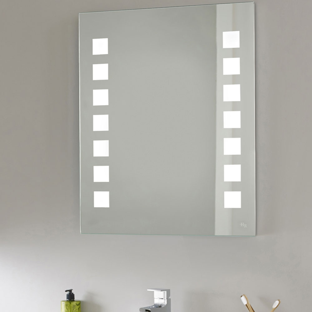 Hudson Reed Maverick Bathroom Mirror, 700mm High x 550mm Wide-0